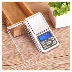 MARKETWALA ALUMINIUM  DIGITAL PORTABLE SCALE 0.1g to 200g for kitchen & jewellery weighing (pack of 1)