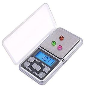 Marketwala Digital Weighing Scale Machine with LCD Backlight Upto 200gm For Measuring Small Itmes & Jewellery (Pack of 1)