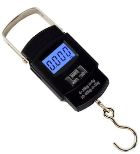 Marketwala Portable Electronic Scale Luggage/Hanging Weighing Scale(Black) (Pack of 1)