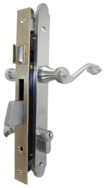 Marks 2750B Righ Hand Single Cylinder Thinline Mortise Lock Set For Patio Door