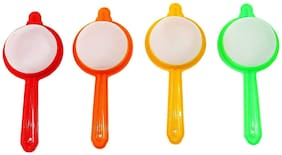 Markwell Plastic Tea and Coffee Strainers;Multicolour (Set of 4)