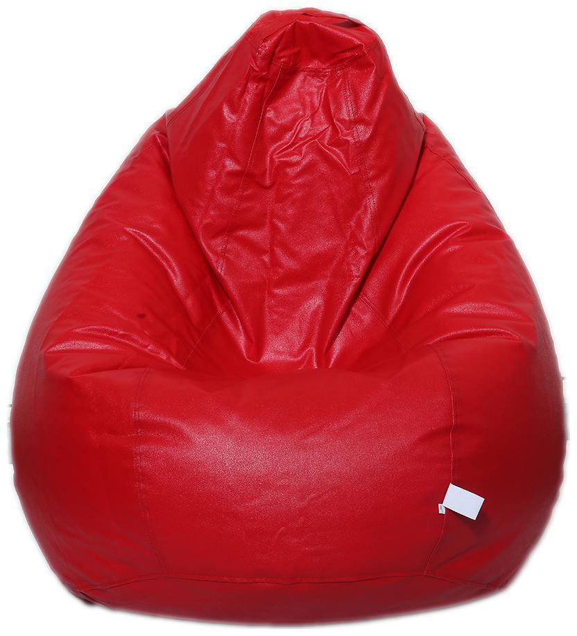 Maruti Fun Bags Bean Bag Cover Classic Xl Red Colour Without Beans by Maruti Fun Bags