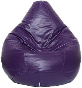 Maruti Fun Bags Bean Bag Filled With Beans Purple-XL