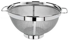 Marwall 304 Grade Stainless Steel Multi Purpose Colander Fruit/Vegitable Basket-Dia-23.5 cm
