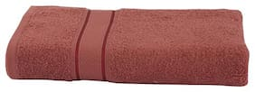 Maspar 500 GSM Cotton Bath towel ( 1 piece , Maroon )