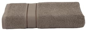Maspar 500 GSM Cotton Bath towel ( 1 piece , Brown )