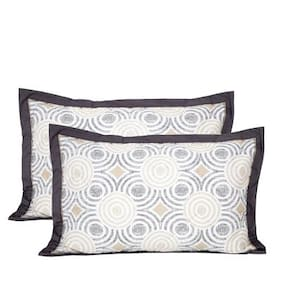 Maspar Astounding Ace Neutral Pillow Sham Set Of 2