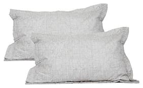 Maspar Classical Fusion Barre Large Pillow Sham Set ( Pack Of 2 )