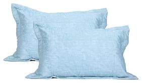 Maspar Classical Fusion Barre Large Pillow Sham Set ( Pack Of 2 )