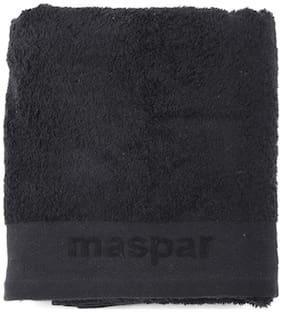Maspar Embossed Black Large Bath Towel (1 pc)