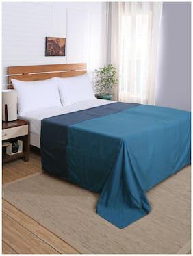 Maspar Flamboyance Blue Double Duvet Cover With Pillow Cases (3 Pc)