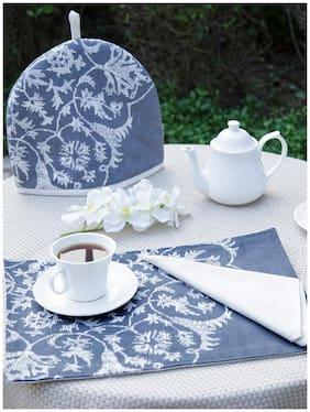 Maspar Beige Generic Table Linen Set  (Pack of 8)