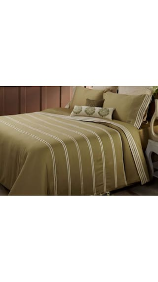 Maspar Royal Insignia Green King Duvet Cover With 2 Pillow Covers (3 Pc)