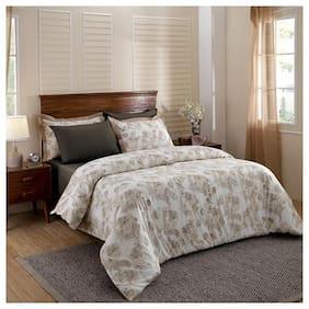 Maspar Cotton Abstract Duvets Beige Set of 2
