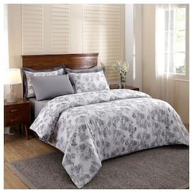 Maspar Cotton Abstract Duvets Grey Set of 3