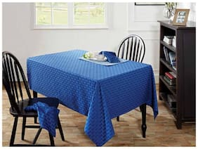 Maspar Kaleidoscope Blue 6 Seater Table Cover (1 Pc)