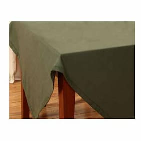 Maspar Kaleidoscope Green 6 Seater Table Cover (1 Pc)