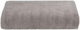 Maspar Solid 550 GSM Cotton Beige Large Bath Towel (Pack of 1)
