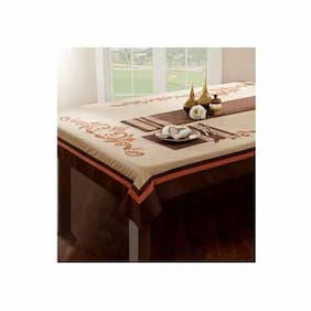 Maspar Excel Brown 8 Seater Table Cover (1 Pc)