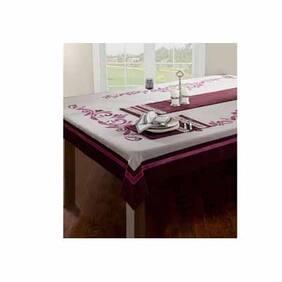 Maspar Excel Purple 8 Seater Table Cover (1 Pc)