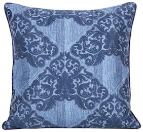 Maspar Vintage Bijoux Blue Regular Cushion Cover (1 Pc)