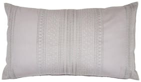 Maspar Sapphire Grey Medium Cushion Cover (1 Pc)