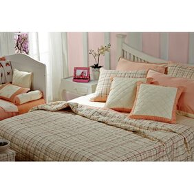 Maspar Ballerina Peach Single Quilt (1 Pc)