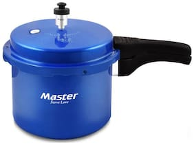 Master Aura Blue  Aluminium Outerlid Pressure Cooker 3 Ltr (ISI Marked)
