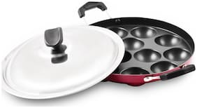 Master Perfect Non Stick Paniyarakkal 12 Holes With SS Lid