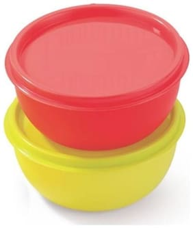 Mastercook 550 ml Assorted Plastic Container Set - Set of 1