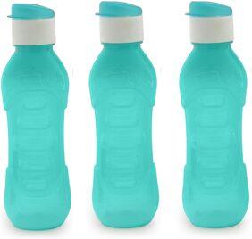 Masterware Finger Blue water bottle(Pack of 3)