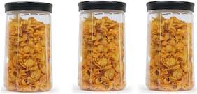 Masterware Victoria 300ml plastic jars.(Pack of 3)
