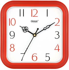 Yes Celebration Red Wall clock