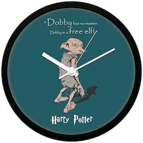 Mc Sid Razz Harry Potter Series Wall Clock of Dobby | Decorative Unique Officially Licensed By Warner Bros;USA