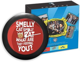 Mc Sid Razz Friends - Tv Series - Smelly Cat | Table Clocks Table Clock for Office;Official Licensed by Warner Bros;USA