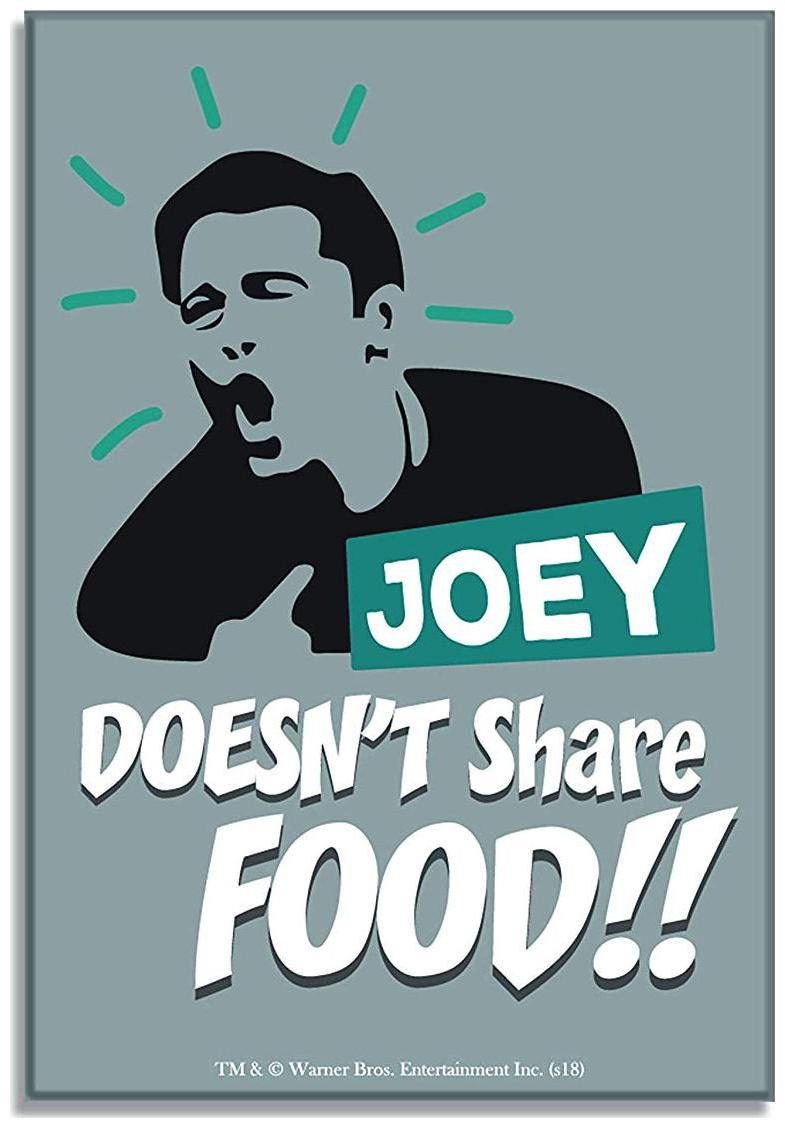 Joey Doesn/'t Share Food Friends TV Show Personalised Pen Gift