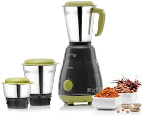 Mccoy STAR 500 W Mixer Grinder ( Grey & Green , 3 Jars )