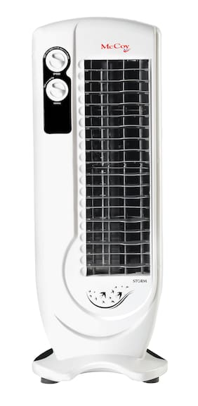 McCoy Storm Tower Fan  (White   Pack of 1)