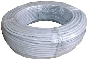 MECCLIEN CCTV Wire Cable 3+1 Full Copper - 90 Meter