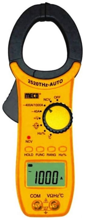 Meco 1000A AC Auto/Manual Ranging Digital Clamp Meter;2520THz