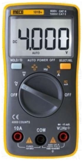 Meco 101B+ Multimeter Along With Calibration Certificate
