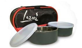 Meenamart Assorted Lunch box ( Set of 2 , 325 ml )