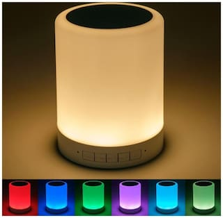 Meenamart plastic body material smart Bluetooth speaker and touch sound lamp