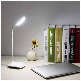 Meenamart  Power Plus Flexi Swan Led Tableware / Desk/Study/Night Lamp Table Lamp