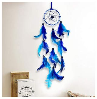 Meher Collection Small Dream Catcher Traditional Indian Wall Art for Bedrooms, Home Wall, Hanging Design