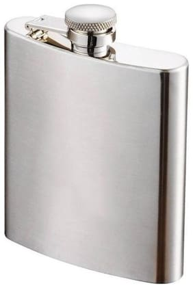 Menzy Stainless Steel Hip Flask 8oz (230 ml) - Alcoholic Beverage Holder