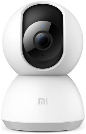Mi MJSXJ02CM 360 degree 1080P WiFi Home Security Camera (White)