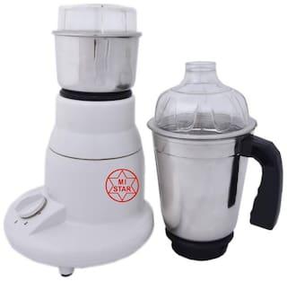 MI STAR MG18-200 Mixer Grinder ( White , 2 Jars )