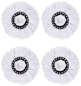 Microfiber Mop Head Refill Pack of 4
