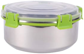 LEOPINE 450 ml Silver Stainless steel Container Set - Set of 1